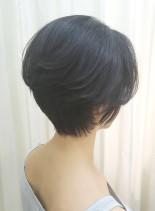 40代50代◎後頭部が綺麗な大人ショート(髪型ショートヘア)