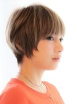 【30代40代50代】ひし形ショート(髪型ショートヘア)