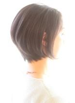 30代40代50代・耳かけショート(髪型ショートヘア)