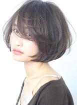 大人の柔らかな◇小顔ショートボブ(髪型ショートヘア)