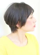 40代50代大人女性におすすめショート(髪型ショートヘア)
