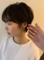 似合わせ美シルエットショートヘア(髪型ショートヘア)