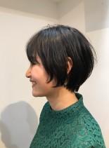 横顔が素敵になるショートボブ☆(髪型ショートヘア)