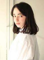 簡単にかわいい ミディアムスタイル(髪型ミディアム)