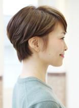 大人女性にオススメショート(髪型ショートヘア)