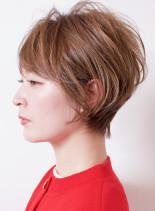 大人可愛い◇ペールショート(髪型ショートヘア)