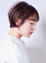 ベビーバング☆マルチシルエットショート(髪型ショートヘア)