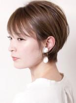 小顔美人☆ペールトーンショート(髪型ショートヘア)