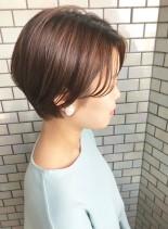 30代・40代◎360度キレイなショート(髪型ショートヘア)