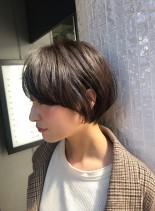 ふんわりショート☆後頭部ボリューム(髪型ショートヘア)