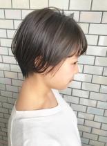 女性らしいふんわりしたショート◎(髪型ショートヘア)