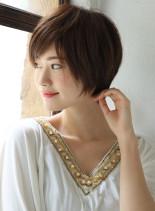 カラー映えショートヘア(髪型ショートヘア)