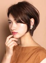 ☆小顔効果☆大人のショートボブスタイル(髪型ショートヘア)