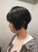 ショートカット☆ハンサムショート(髪型ショートヘア)