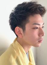 アクティブ スパイキー(髪型メンズ)