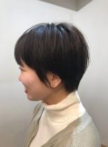 大人可愛いショートヘア☆ボリューム(髪型ショートヘア)