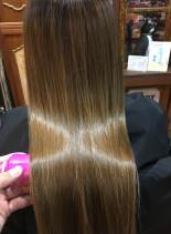髪質改善トリートメント(髪型ロング)