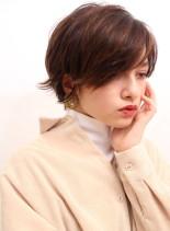大人のクール系ショートスタイル(髪型ショートヘア)