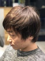 マッシュショート(髪型メンズ)