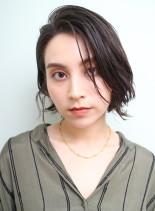 簡単スタイリング*大人ショートボブ(髪型ショートヘア)