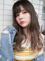 カット+トリプルグラデーション(髪型ロング)