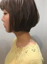 大人可愛いショートボブ☆簡単スタイリング(髪型ボブ)