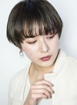 クールマッシュスタイル(髪型ショートヘア)