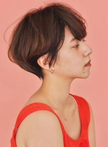 【丸み】横顔美人ショート【大人可愛い】(ビューティーナビ)