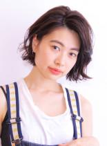 オトナ可愛いリラックスボブスタイル(髪型ボブ)