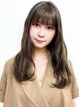 ミルフィーユグラデーション(髪型ロング)