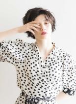 アンニュイスタイル(髪型ショートヘア)