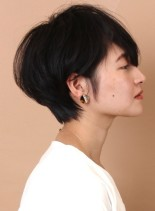 30代40代☆お手入れ簡単大人ショート(髪型ショートヘア)
