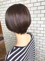 30代・40代◎ふんわりツヤありショート(髪型ショートヘア)