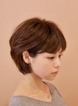 ダイヤモンドショートボブ(髪型ショートヘア)