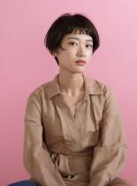 ミニマムボブ(髪型ショートヘア)