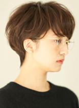 ベーシックメリハリショート(髪型ショートヘア)