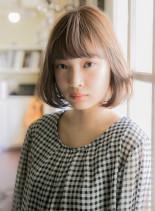 ワンカールパーマ(髪型ボブ)