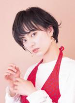 ラフパーマ☆大人ショート(髪型ショートヘア)