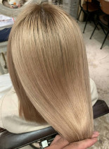 盛山考案 ツヤ髪髪質改善(髪型セミロング)