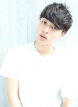 30代おすすめ☆爽やかマッシュショート(髪型メンズ)