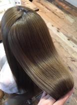 盛山考案 ツヤ髪髪質改善(髪型ロング)