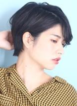 30代*40代大人小顔クールショート☆(髪型ショートヘア)