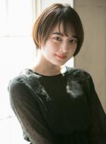 広瀬すず風 大人かわいいショートスタイル(髪型ショートヘア)