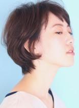 絶壁解消☆ゆるふわショート(髪型ショートヘア)