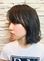 2WAYナチュラル外ハネボブ(髪型ボブ)