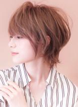 大人のクビレ◇ひし形ショート(髪型ショートヘア)