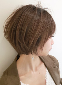 大人のモテ髪◇ショートボブ(ビューティーナビ)