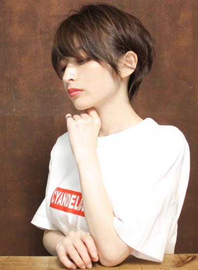 大人の美シルエットタイトショート(髪型ショートヘア)