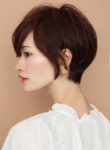 ☆30代、40代☆横顔美人ショート(髪型ショートヘア)