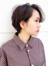 20代〜30代向け*ハンサムショート(髪型ショートヘア)